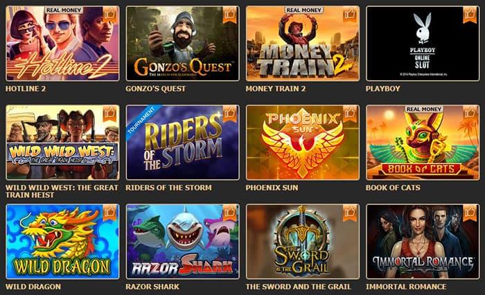 Рокс казино: игровые автоматы на любой вкус